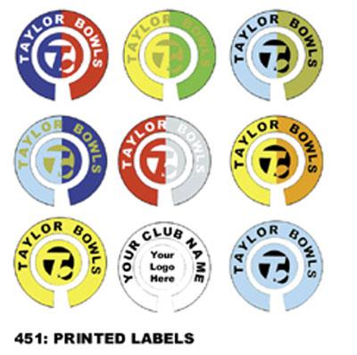 Bowls Labels