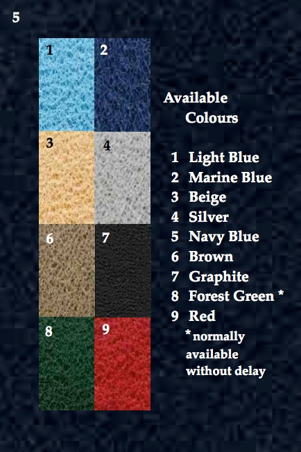 Colour Delivery Mats